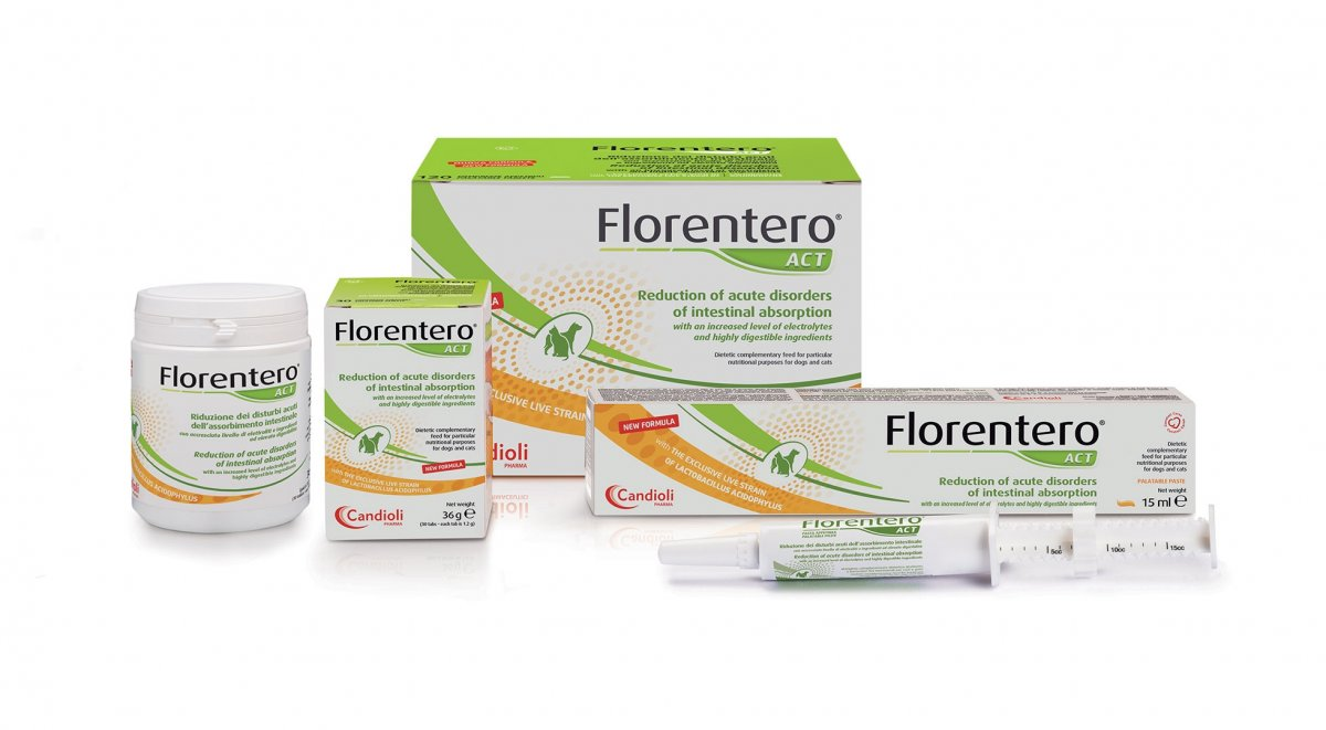 Florentero ACT with Lactobacillus acidophilus
