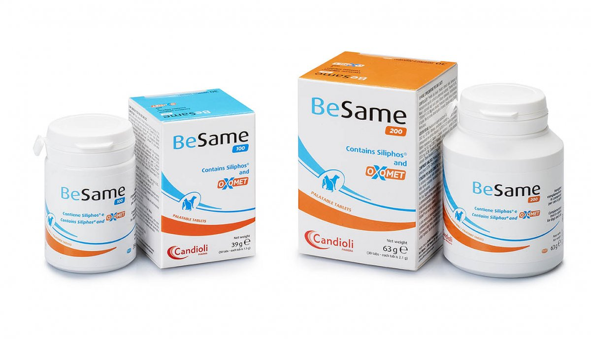 BeSame 100/200 tablets range for dogs and cats