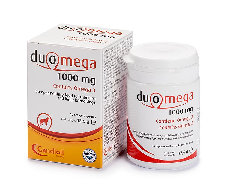 Duomega 1000 mg medium and large dogs