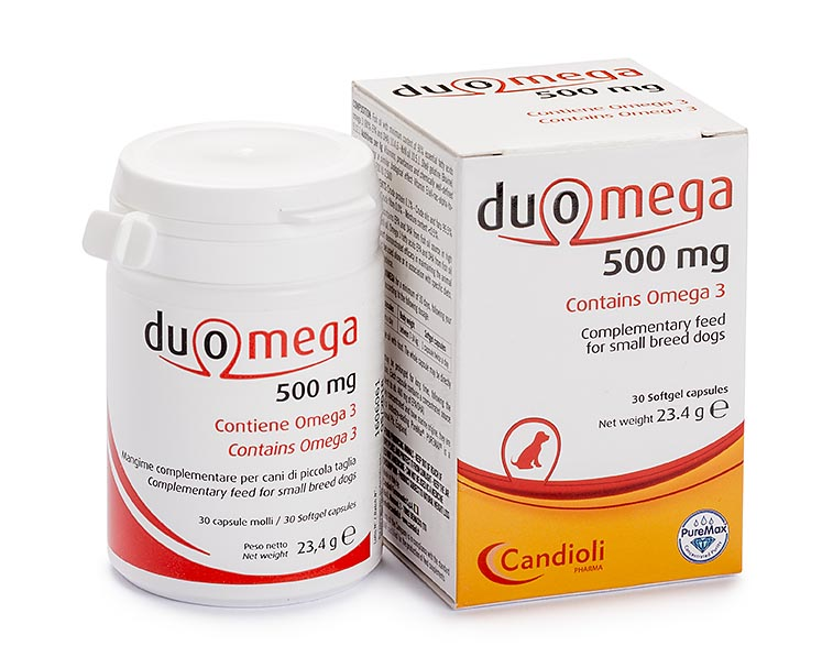 Duomega 500 mg small dogs