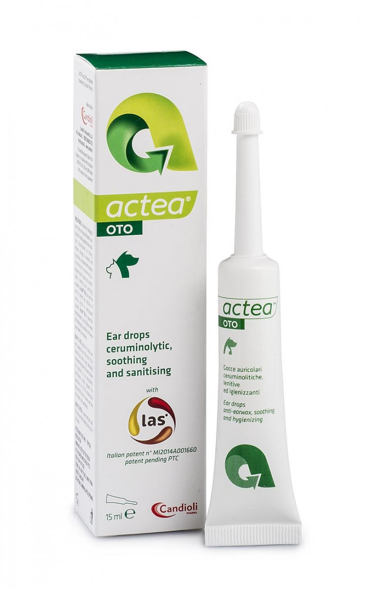 Actea Oto 15 ml ear drops with natural peptide