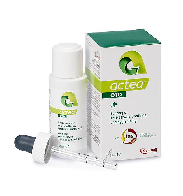 Actea Oto 30 ml ear drops with natural peptide