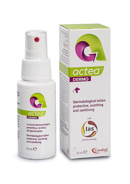 Actea Dermo dermatological lotion with natural peptide