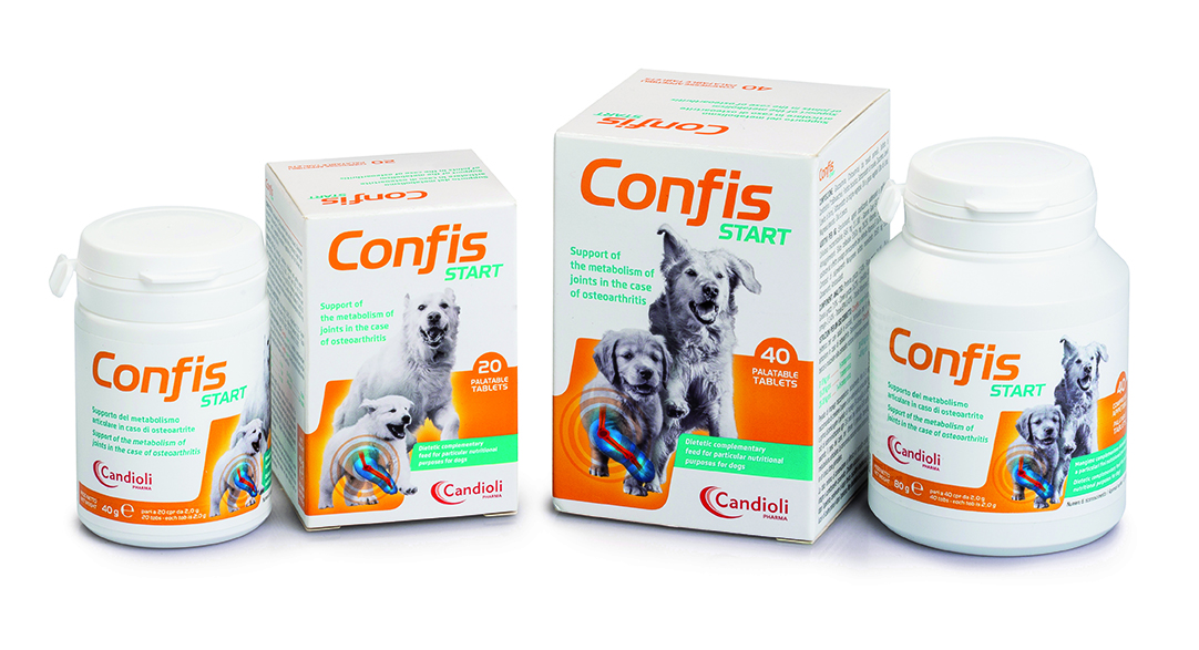 Confis Start 40 tablets for dogs